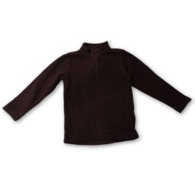 116-os fekete polár pulóver - Decathlon