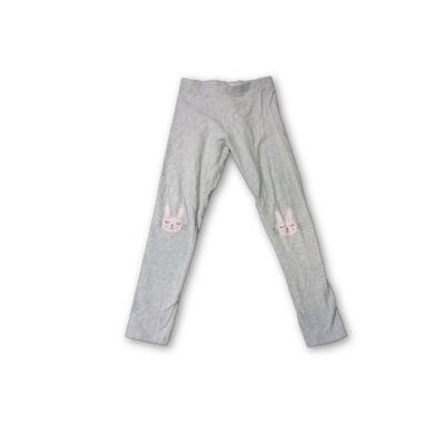 122-es szürke nyuszis leggings - F&F