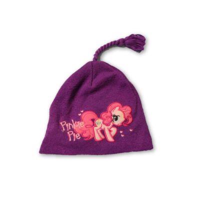 50 cm-es fejre lila kötött sapka - My Little Pony