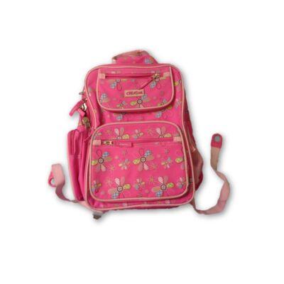 Virágos kislány hátizsák
