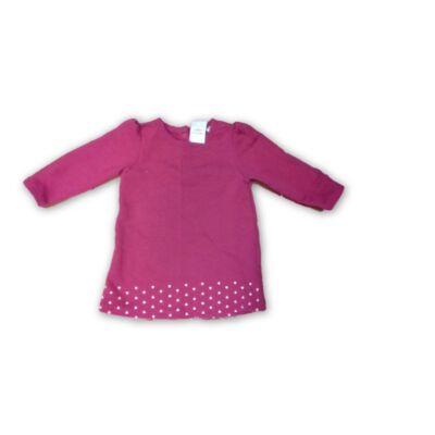 74-80-as pink pamut tunika - Lupilu