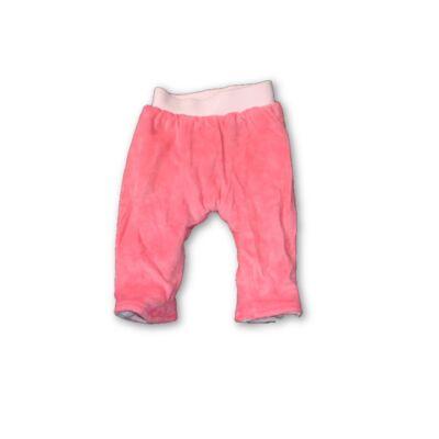 62-es rózsaszín bélelt plüss nadrág - In Extenso