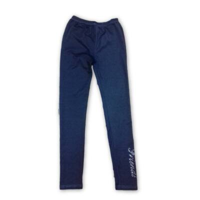 158-as kék strasszköves leggings