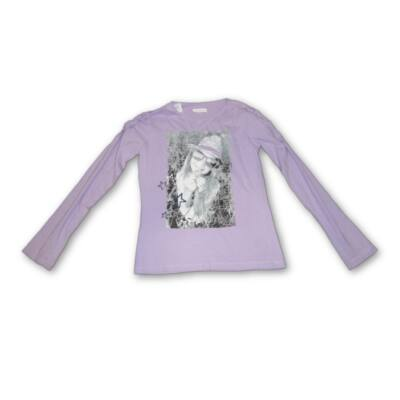164-es lila lányos pamutfelső - In Extenso