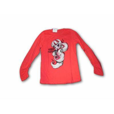 164-es korallszínű pamutfelső - Monster High - Zara