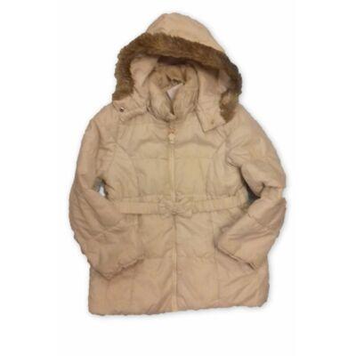 122-es törtfehér lány télikabát - H&M