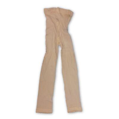 122-128-as csipkés aljú lábfej nélküli nylon harisnya - ÚJ