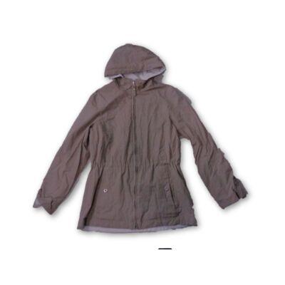164-es lány drapp kifordtható kabát