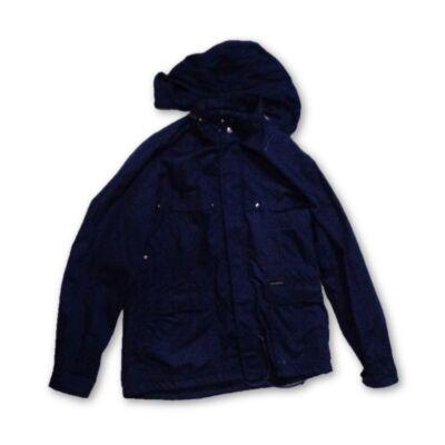 Férfi M-es kék átmeneti kabát