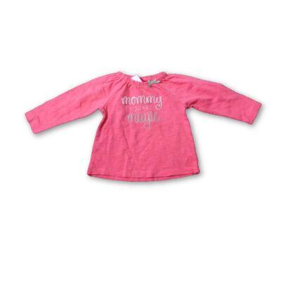 62-es rózsaszín feliratos pamutfelső - S.Oliver