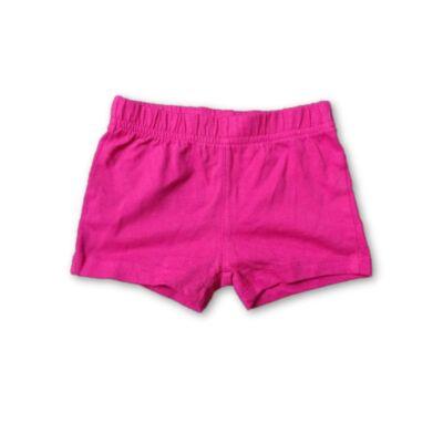 62-es pink pamutshort, rövidnadrág