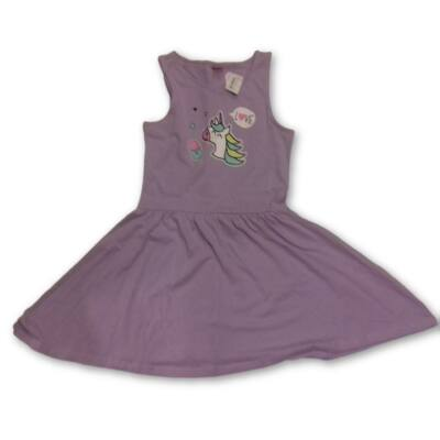 158-164-es lila unikornisos ruha - Y.F.K - ÚJ
