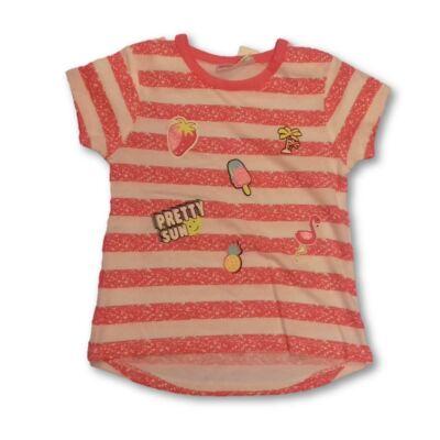86-os csíkos lány póló - Ergee - ÚJ