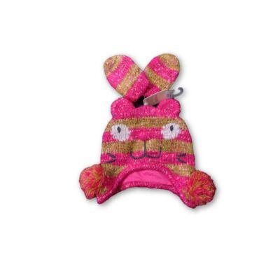Rózsaszín cicás sapka kesztyűvel - Next - ÚJ