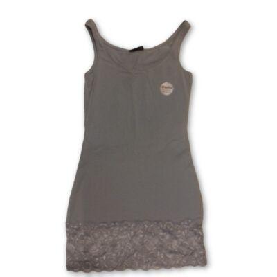 Női S-es szürke miniruha vagy hosszú trikó - Janina - ÚJ