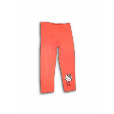 140-es barackszínű leggings - Hello Kitty