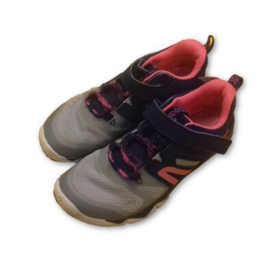30-as kék-szürke-pink lány edzcipő - Decathlon