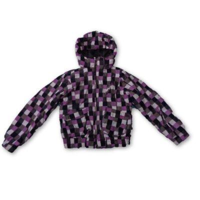 146-152-es lila kockás téli dzseki - Alive
