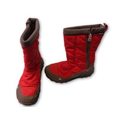 34-es piros lány csizma - Decathlon