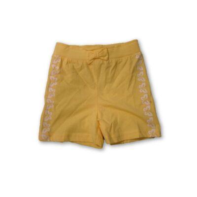 80-as sárga lány pamut short - Ergee - ÚJ