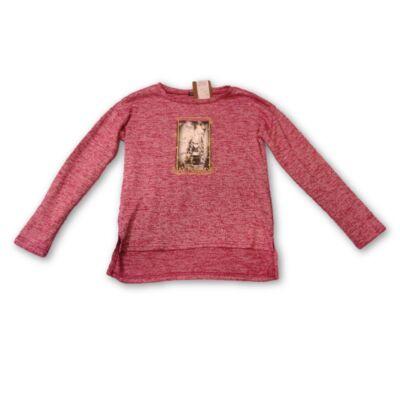 140-es rózsaszín lányos pulóver - In Extenso