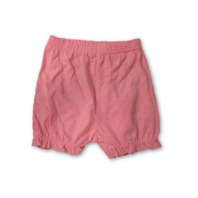 80-as rózsaszín pamutshort, rövidnadrág - Emoji - ÚJ