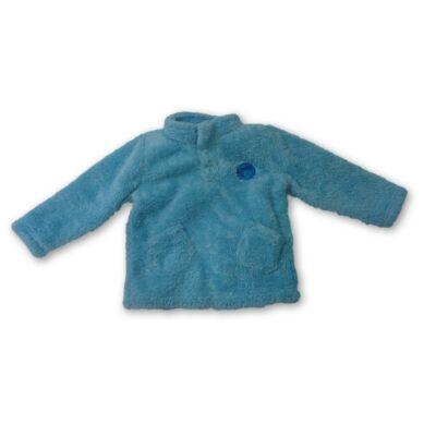 86-92-es kék szőrmés pulóver - Impidimpi