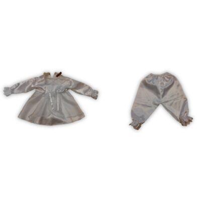 62-es fehér 2 részes keresztelő ruha