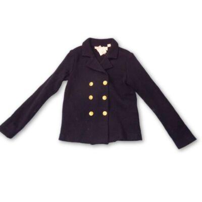 122-128-assötétkék kötött kabátka lánynak - H&M