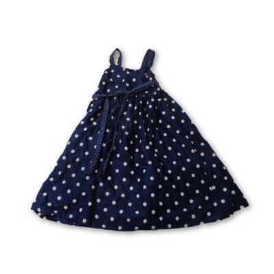 122-es kék pöttyös nyári ruha - H&M