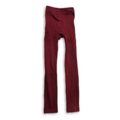 146-152-es bordó bélelt leggings