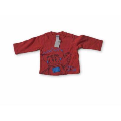 62-es piros fiú pamutfelső - M&Co