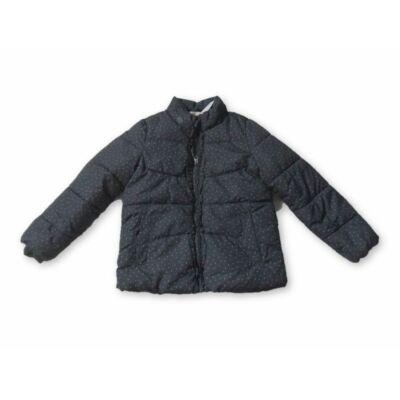 134-es szürke szivecskés téli dzseki - H&M