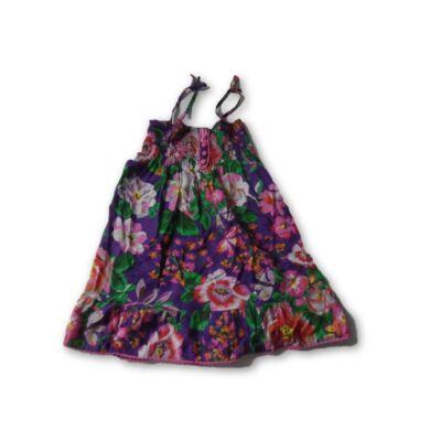 116-os lila virágos ruha - Girl2girl