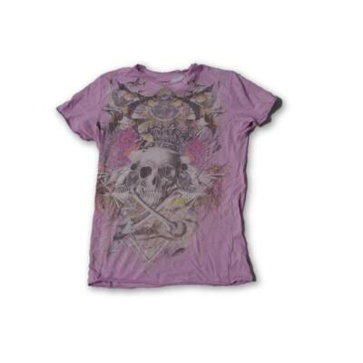 158-as lila koponyás lány póló - New Look