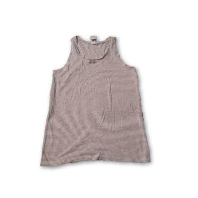 146-152-es szürke csíkos trikó - C&A