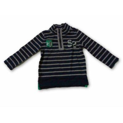 92-98-as csíkos pulóver -S. Oliver