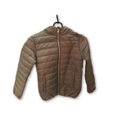 140-es khaki lány könnyű átmeneti kabát - Pepco - ÚJ