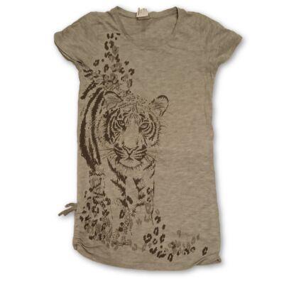 140-es szürke pamut tigrises tunika - Next