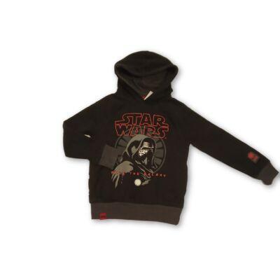 122-128-as fekete pulóver - Star Wars