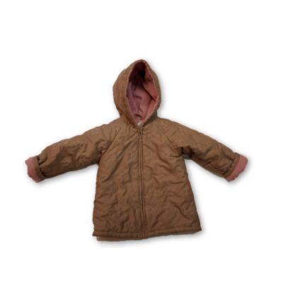 86-os barna kislány kabát polárral bélelve - In Extenso