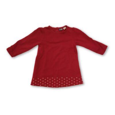 86-92-es pirosasbordó ruha - Lupilu