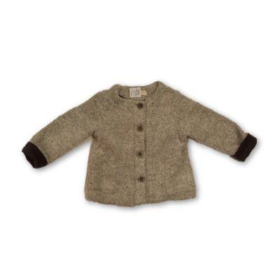 104-es szürke kardigán-kabát lánynak - Zara
