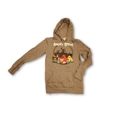 146-152-es szürke pulóver - Angry Birds