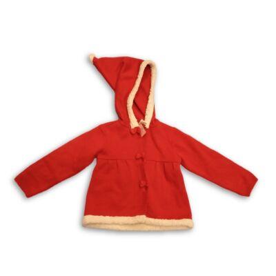 86-os piros kapucnis kardigán kislánynak - C&A