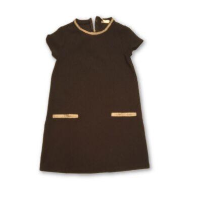 134-es bordás fekete alkalmi ruha - Pepco