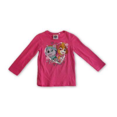 116-os pink pamutfelső - Paw Patrol - Mancs Őrjárat - ÚJ
