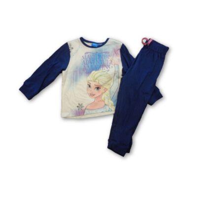92-es kék-fehér pizsama - Frozen, Jégvarázs - ÚJ