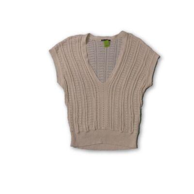 Női L-es lengébb kötött rövid ujjú pulóver - Armani - felicity.hu ... 16f44653c9