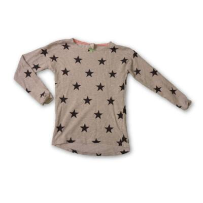 170-es szürke csillagos vékony pulóver lánynak - H&M